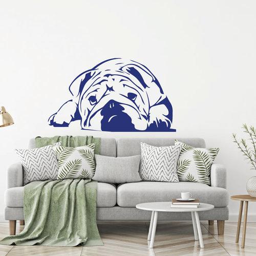 muursticker Bulldog