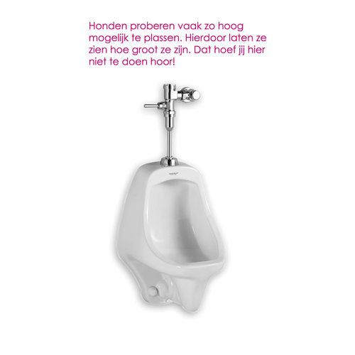 Toilet sticker Hoogplasser