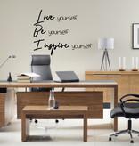 Muursticker Love Be Inspire