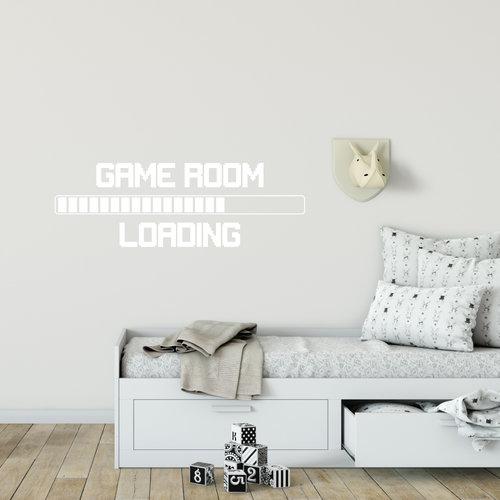 Muursticker Game room loading