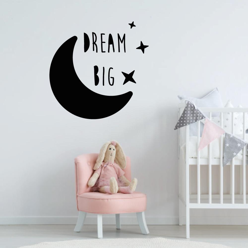 Muursticker Dream Big