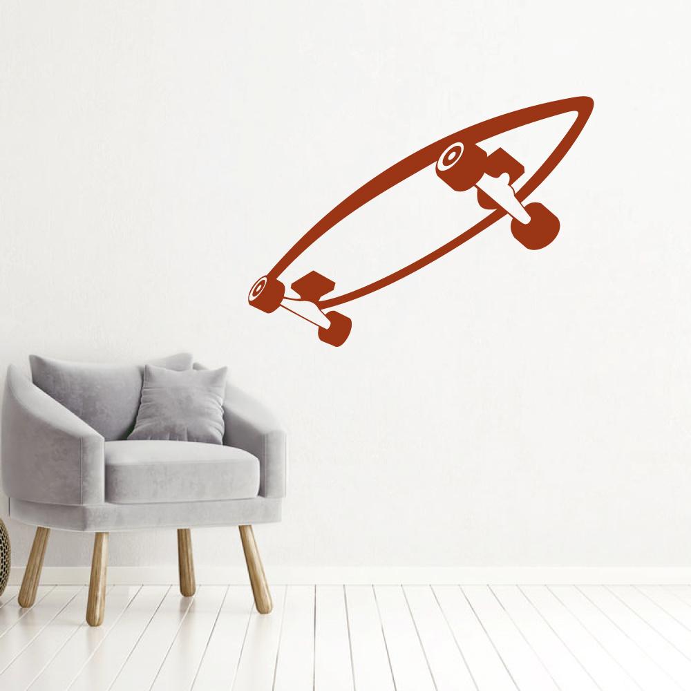 Muursticker Skateboard -   baby en kinderkamer
