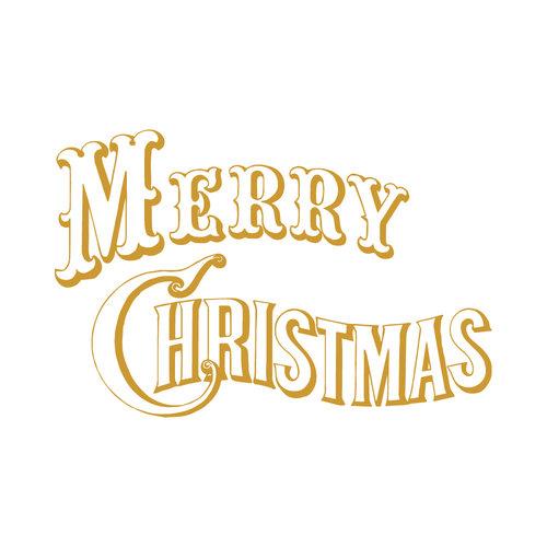 Sticker Merry christmas
