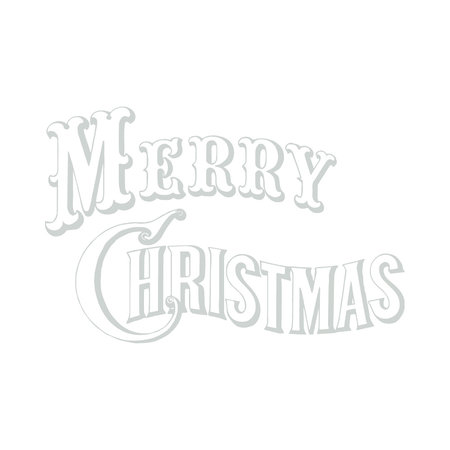 Sticker Merry christmas