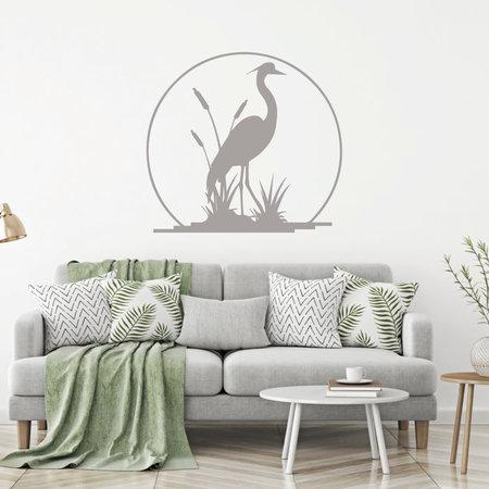 Muursticker Kraanvogel