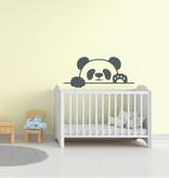 Muursticker Pandabeer