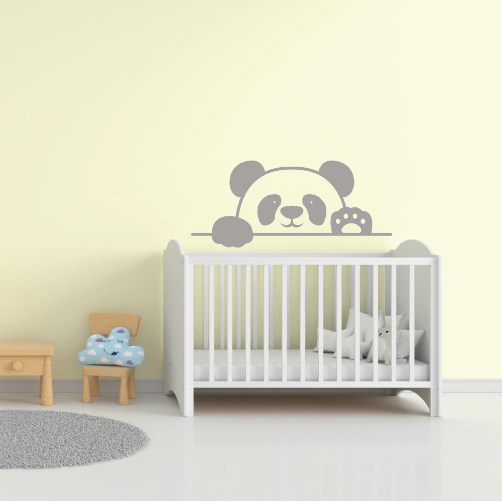 Muursticker Pandabeer -   baby en kinderkamer  dieren