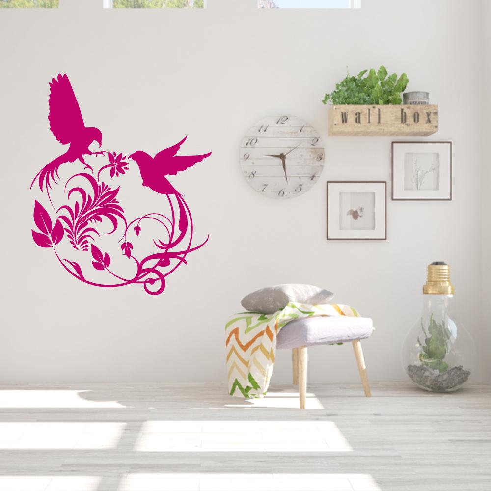 Muursticker Vogels -  slaapkamer  woonkamer  dieren