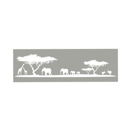 Raamfolie Afrika