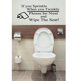 Wc sticker | if you Sprinkle