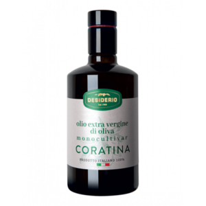 Desiderio Olijfolie  Extra vergine Monocltivar Coratina  0,50 L