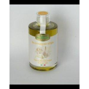 Desiderio Olijfolie met verse knoflook, flesje 0,20 liter