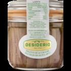 Desiderio Ansjovis fillets in afsluitbare pot, inhoud 230 gram