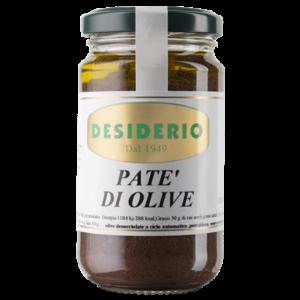 Desiderio Olijfpate' in glazen pot met een inhoud van 180 gram