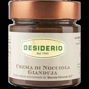 Desiderio Handgemaakte Hazelnoot chocolade hazelnootpasta 400 gram