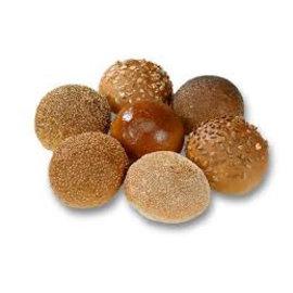 Mini gesorteerde zachte broodjes TARWE
