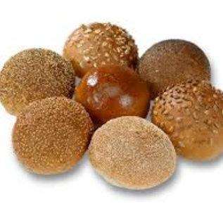 Mini gesorteerde zachte broodjes WIT