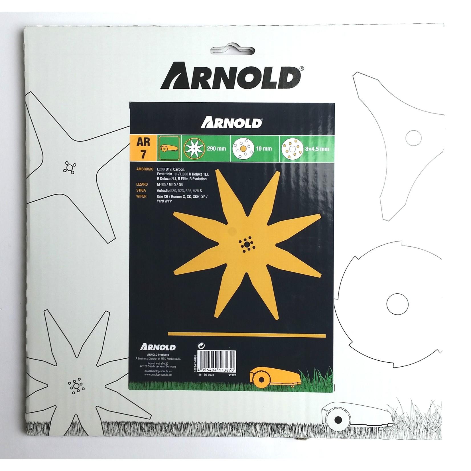 Arnold Arnold Roboter Klinge/ Messer AR7 290 mm 1111-S6-0031