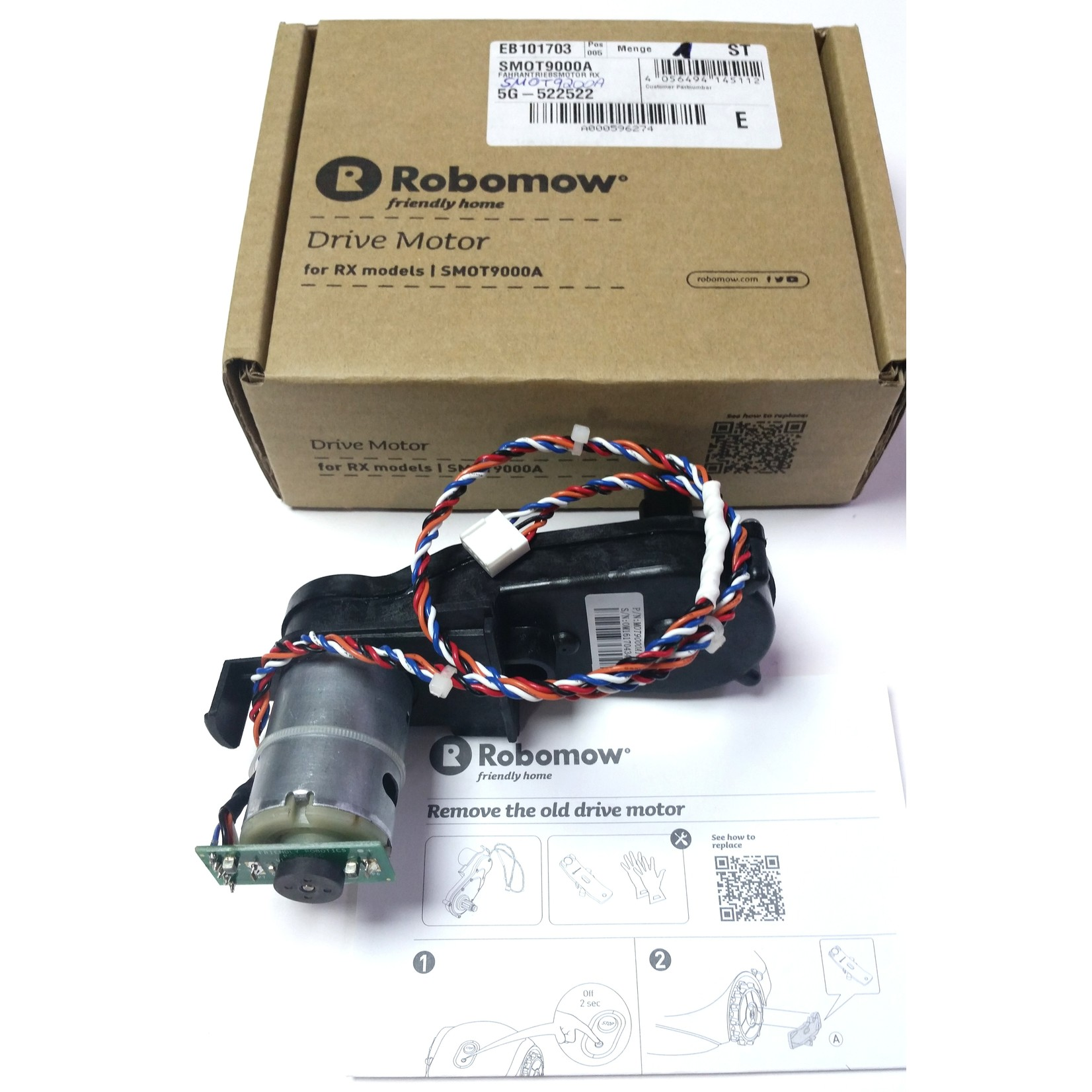 Robomow Robomow Antriebsmotor/Drive Motor RX SMOT9000A/SMOT9200A