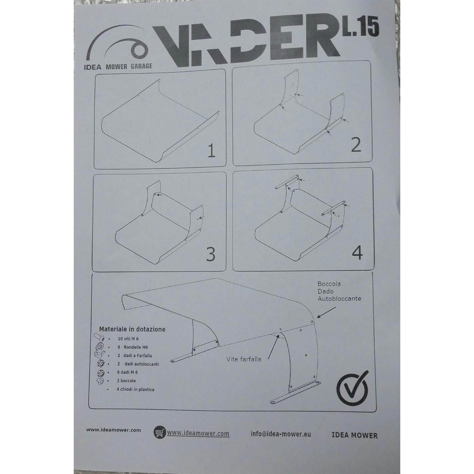 Idea Mower Vader Micro für Ambrogio Twenty/L15 Abdeckung/Garage  22302