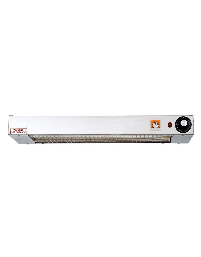Plate heater ceiling