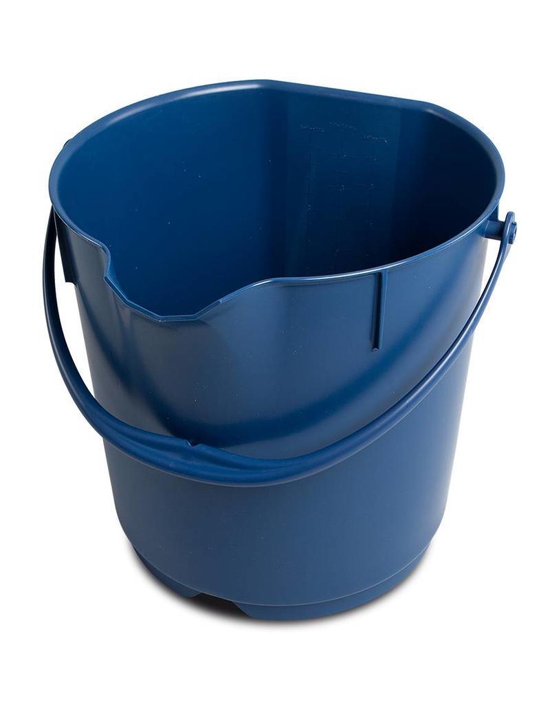Plastic bucket - metal detectable