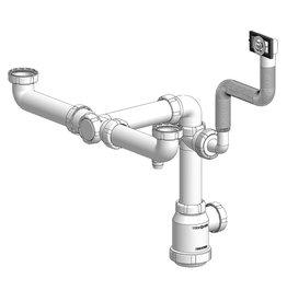 Sink drain - double