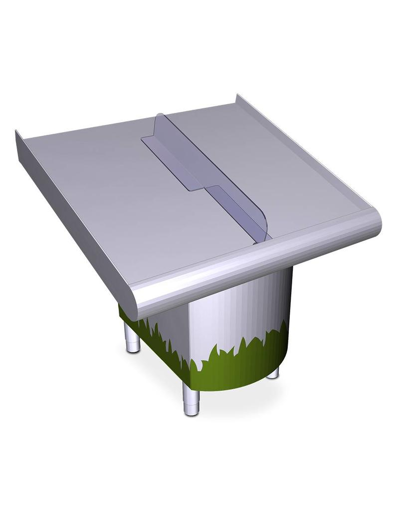 Divider for counter