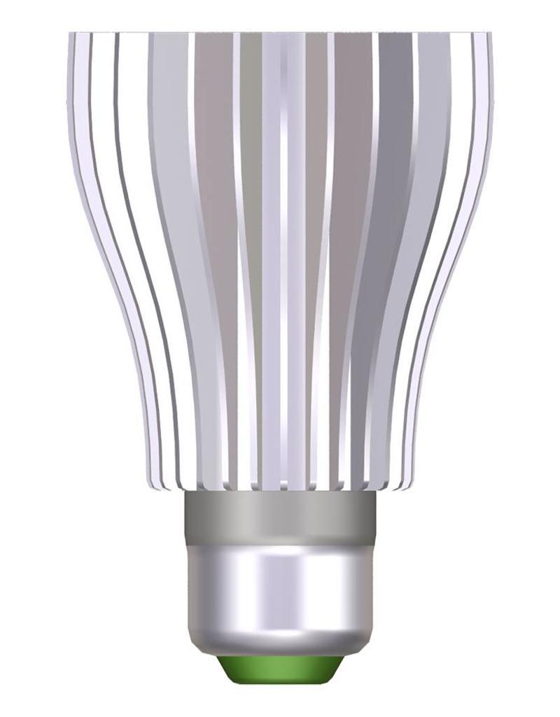 RGB LED bulb - 9 W - with remote control