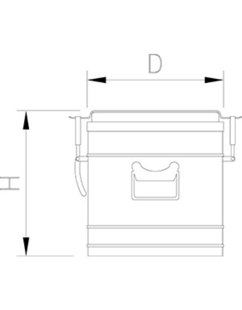 Isothermal food container - with tap