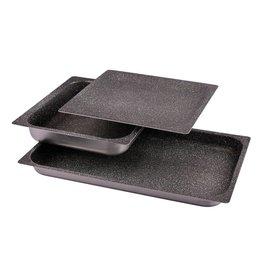 Non-stick aluminium tray