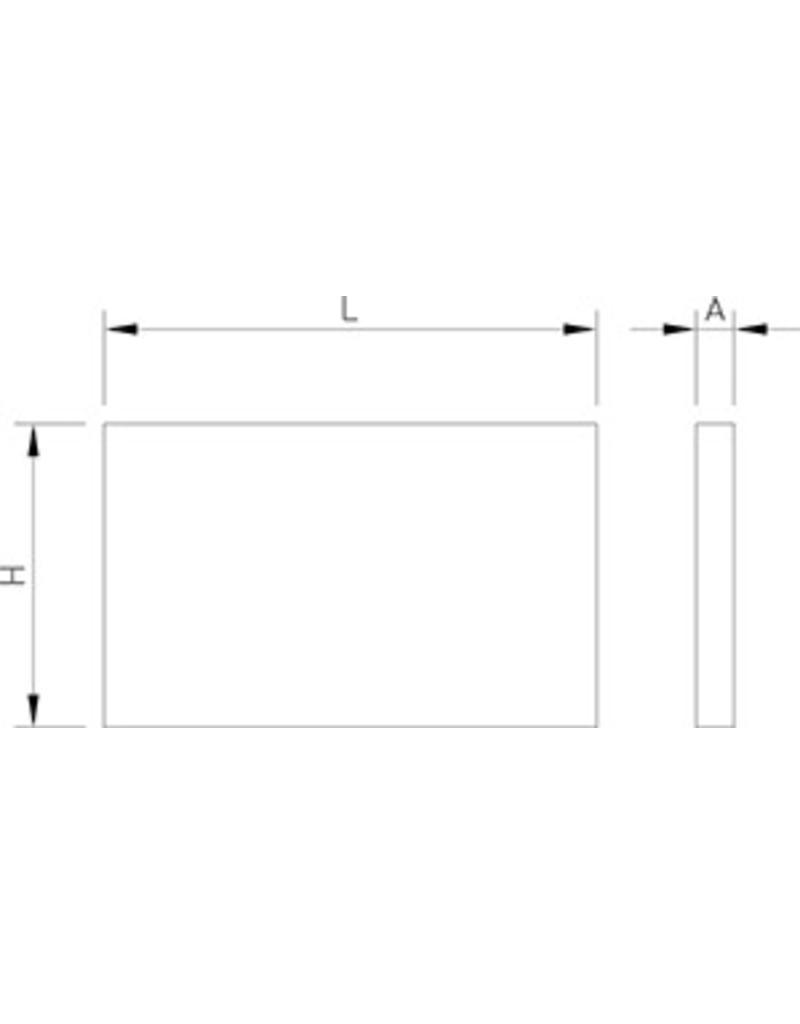 LED krijtbord muurmontage