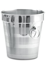 Fricosmos Champagne cooler bucket in stainless steel