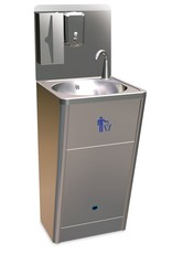 Fricosmos Standard hand wash basin with dispensers with sensor