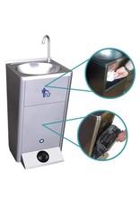 Fricosmos Mobiele wasbak met ingebouwde watertank - zonder spatplaat
