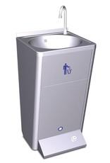 Fricosmos Mobile hand wash basin with integrated tanks - no backsplash -220v 60w.