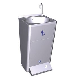 Fricosmos Mobile washbasin pump 220v waste container