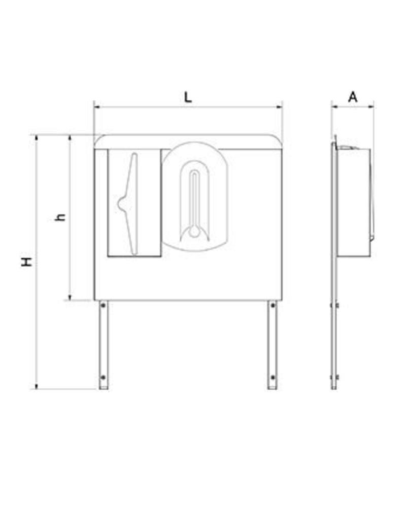 Backspash for mobile hand washbasin