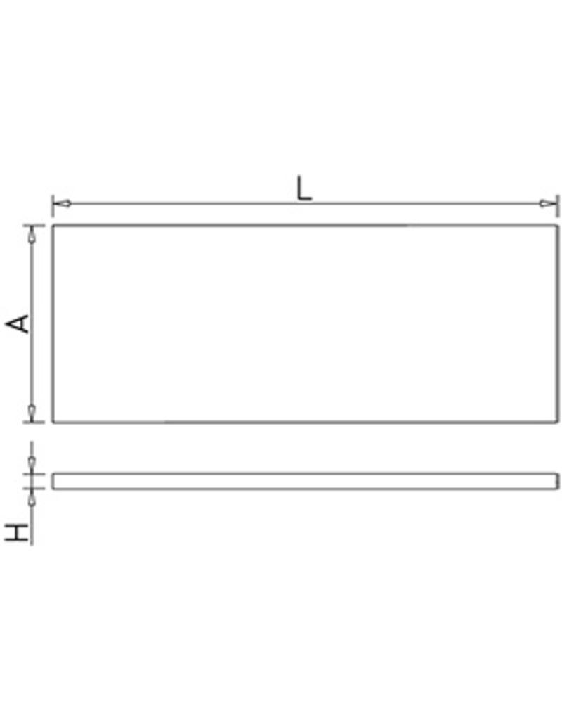 Legborden voor stapelrekken (modulair)