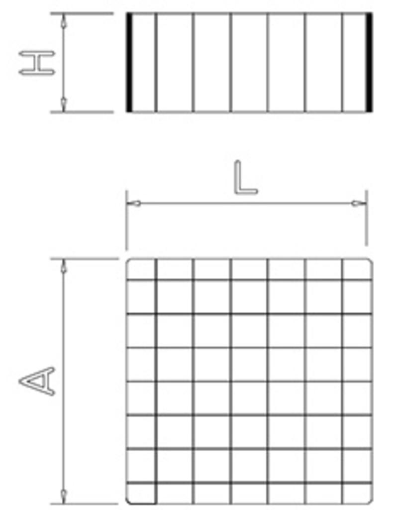 Hakblok voorzien voor montage snijplank
