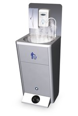 Optie : warm water kit voor mobiele wasbak