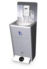 Warm water kit voor ruimtes <15°C