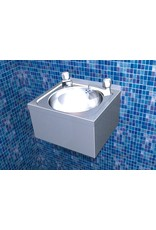 Double tap hand wash basin XS Model