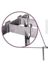 Extra inox hangbeugel voor kit