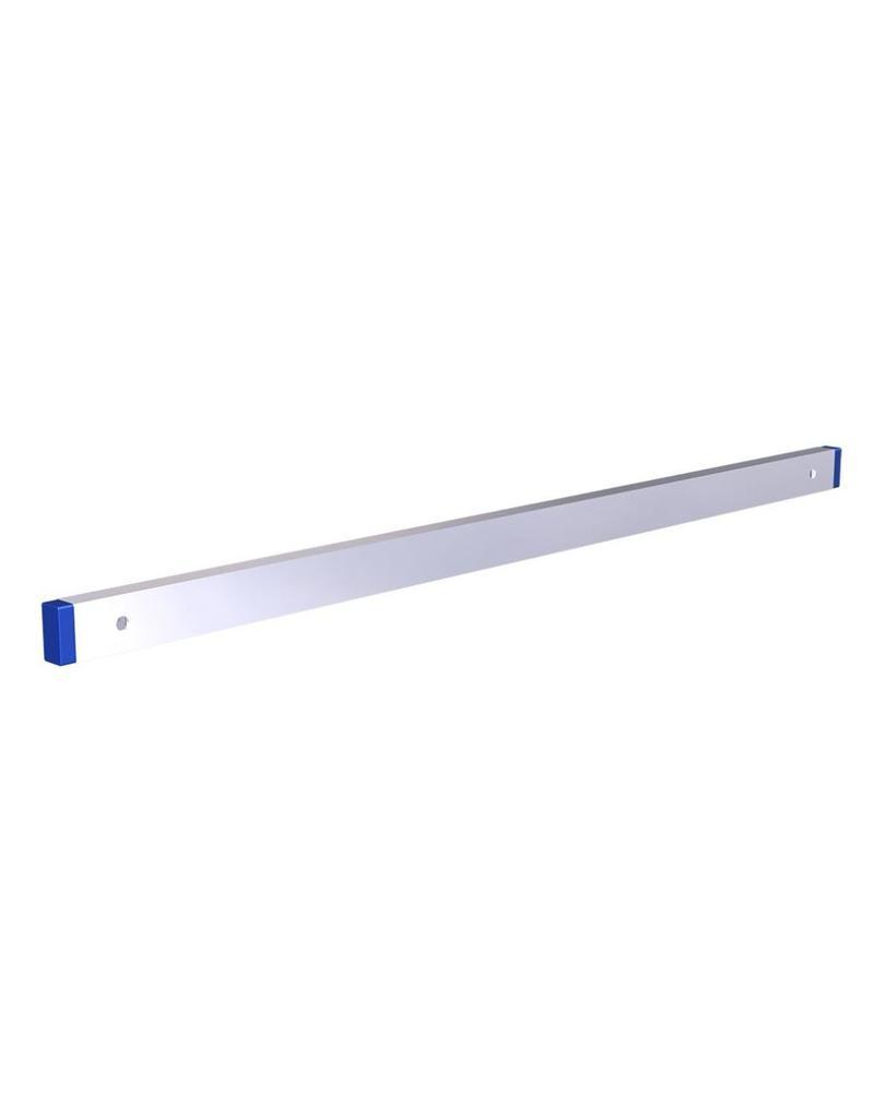 Magnetic knife holder in stainless steel