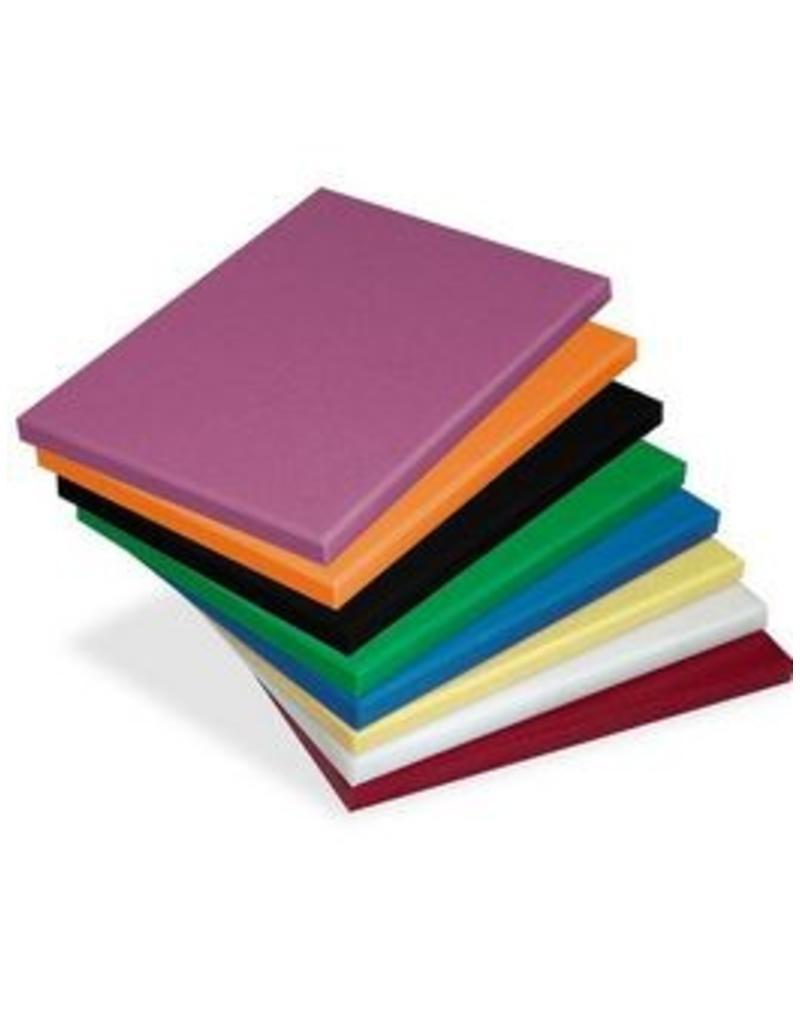 Snijplanken : geel, blauw, groen, paars, (oranje en zwart)