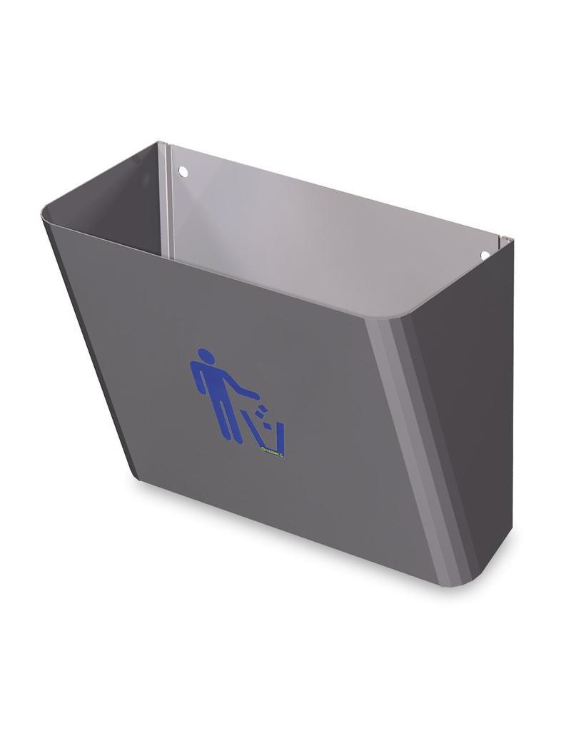 Vuilbak voor onder handwasbakje rechthoekig