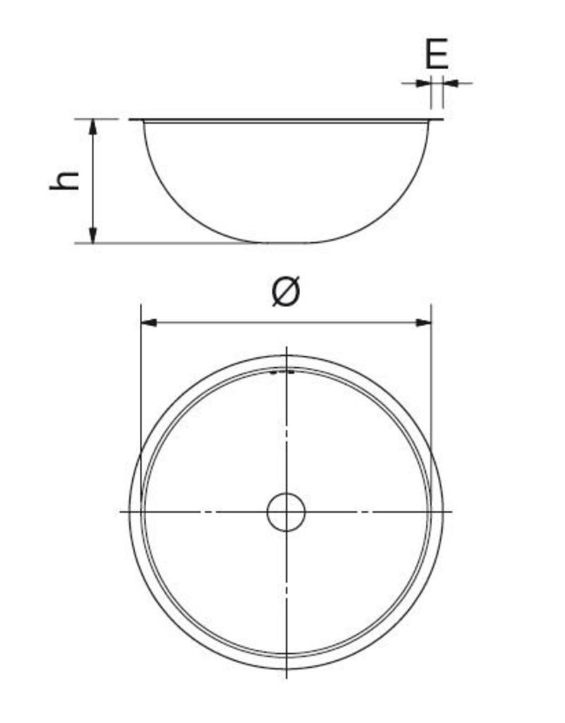 Sink Unit to Weld (Round)