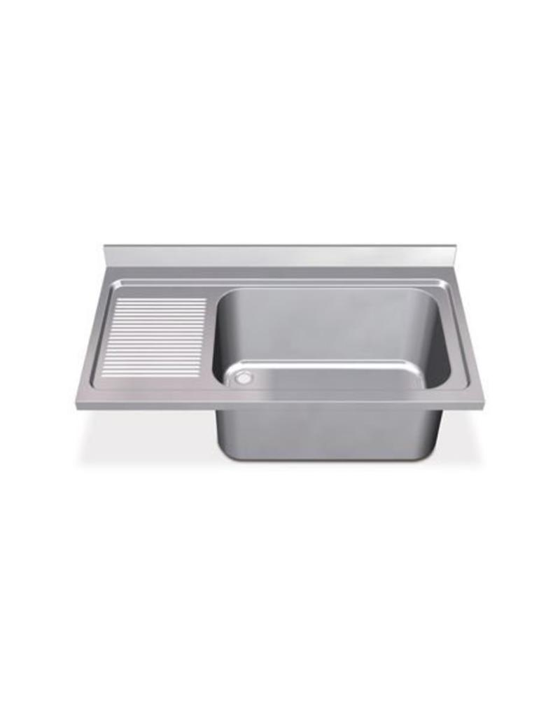 Sink Units Rectangular High Capacity with left drainboard
