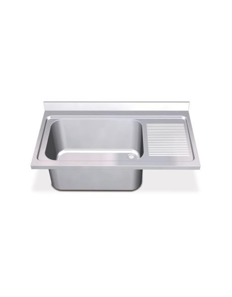 Sink Units Rectangular High Capacity with right drainboard